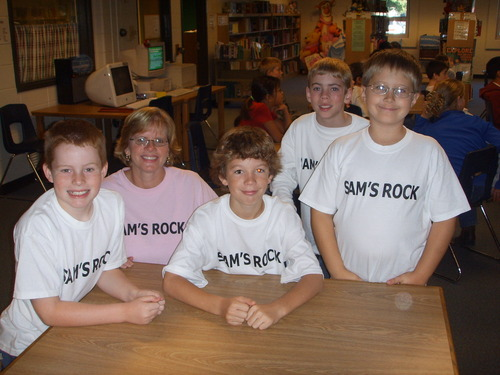 Sams Rock: 4 boys
